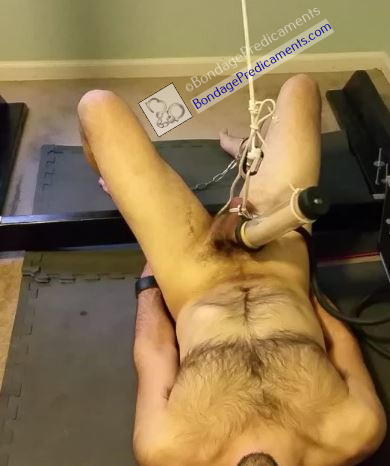 Boy Restrained and Milked by Machine