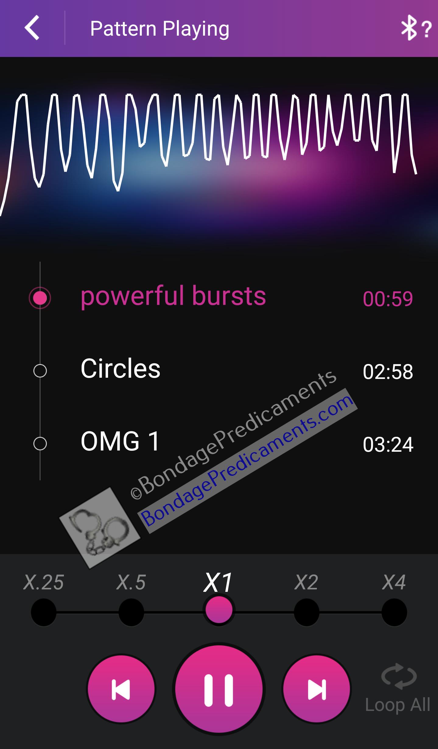 Vibrating Butt Plug Pattern