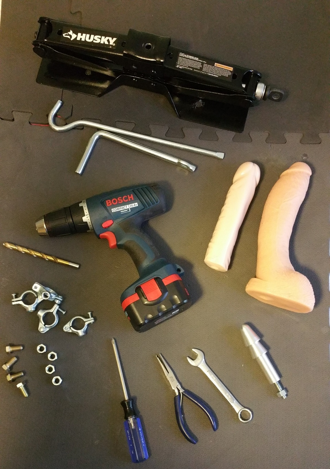 Bondage Stool Parts