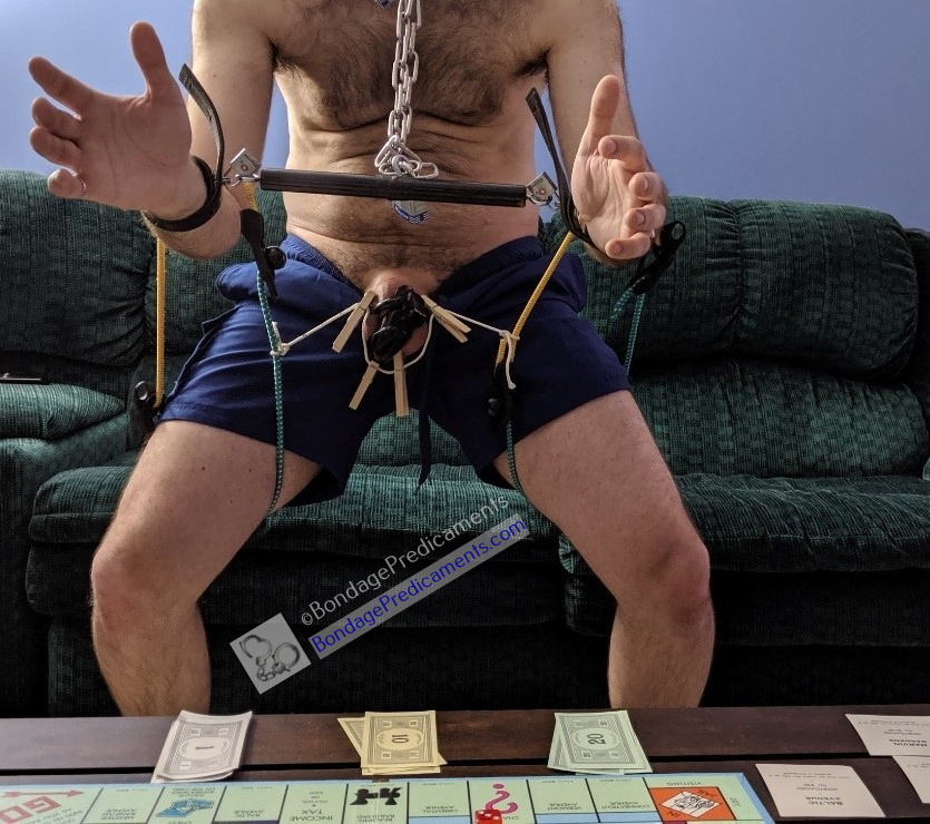Sub Losing at Kinky Board Game