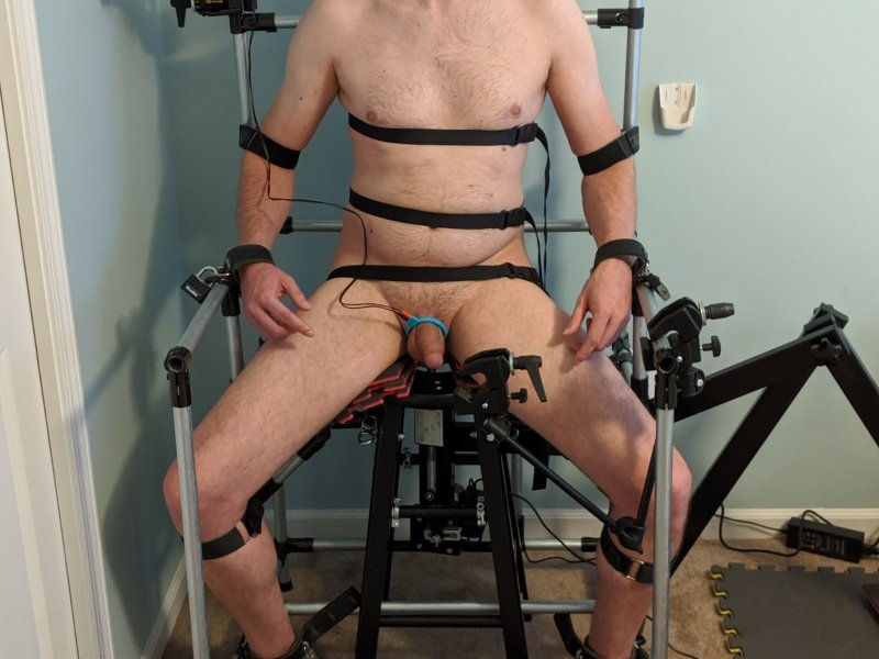 Bondage Chair Gagged