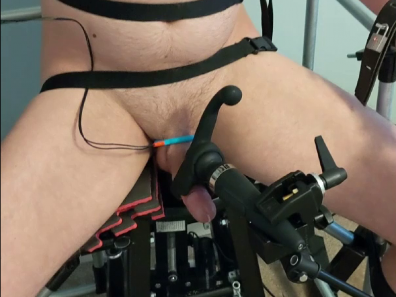 Bondage Chair Ruined Orgasm