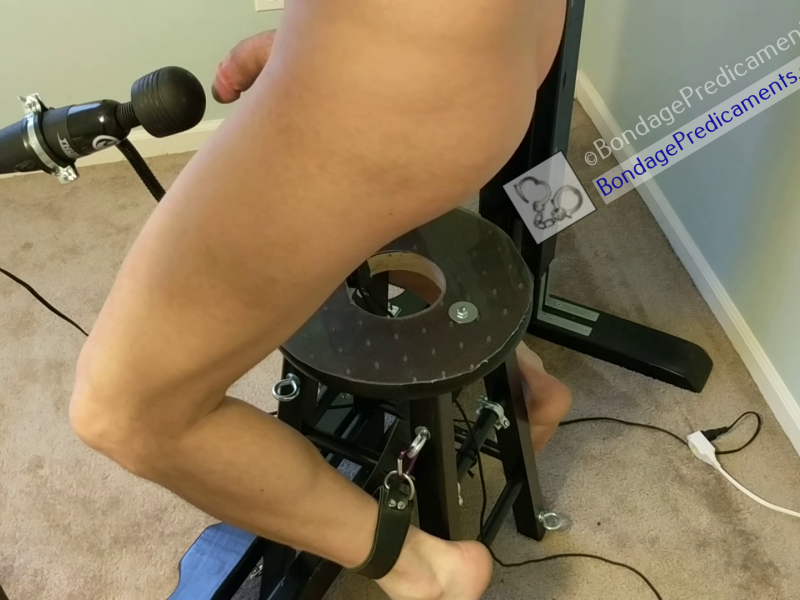 Bondage Stool Predicament