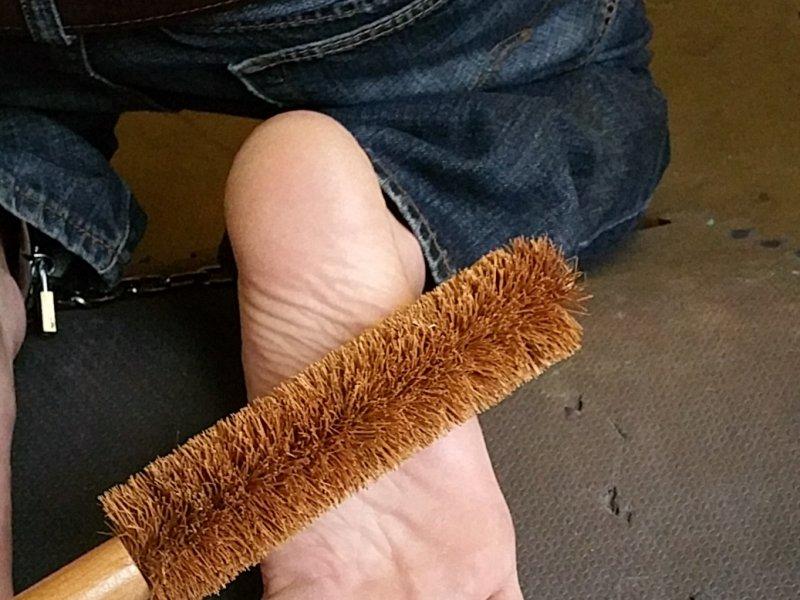 Gay Bondage Foot Torture