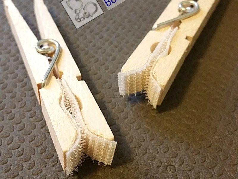 Velcro Clothespins