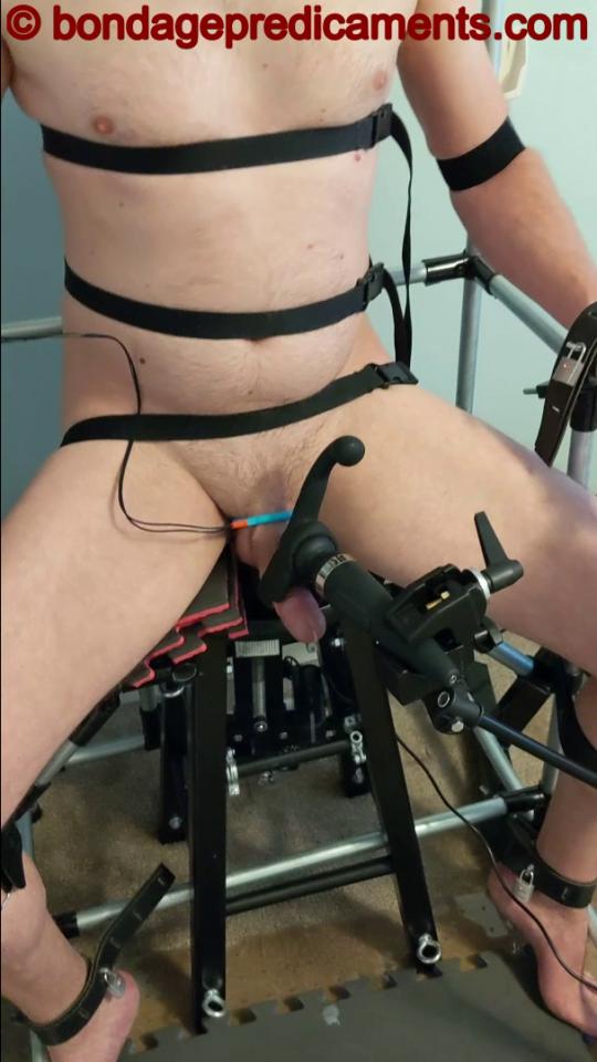 Bondage Chair Ruined Orgasm
