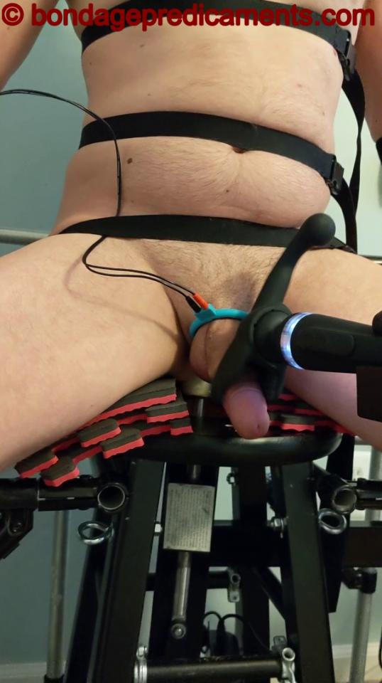 Bondage Chair Vibrating Wand