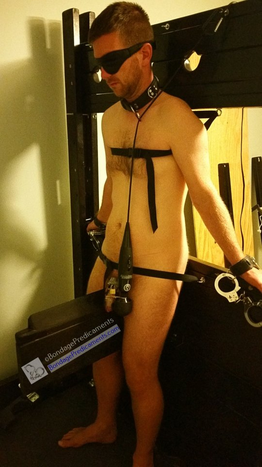Chastity Wooden Horse Edging Predicament