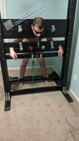 Sub Locked in Stocks Gagged CBT